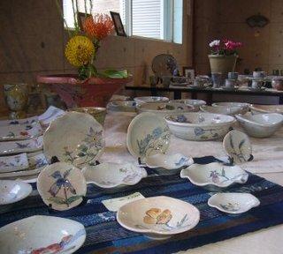 羊歌窯 作陶展 2010.10