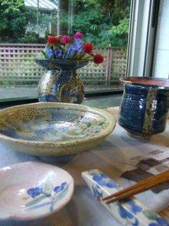 テーブルコーディネイト 羊歌窯